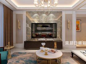 水韵花苑-三居室装修151平米-轻奢简欧风格