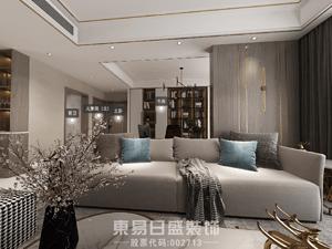 金悦城200平米大平层现代轻奢风格案例赏析