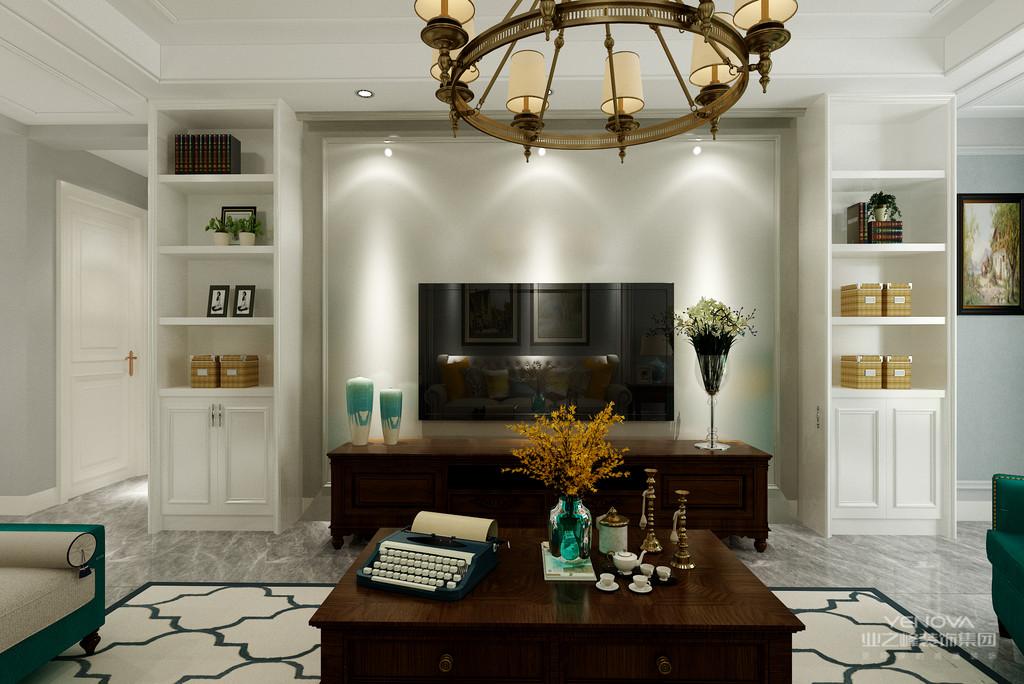 客厅有文化感、有贵气感,还不能缺乏自在感与情调感