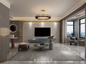 汀香郡-155平米三居室-現代風格案例