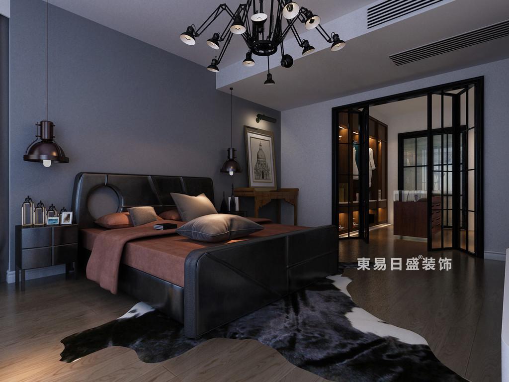 桂林鸿瑞•香格里拉花园复式楼300㎡现代风格:主卧室装修设计效果图