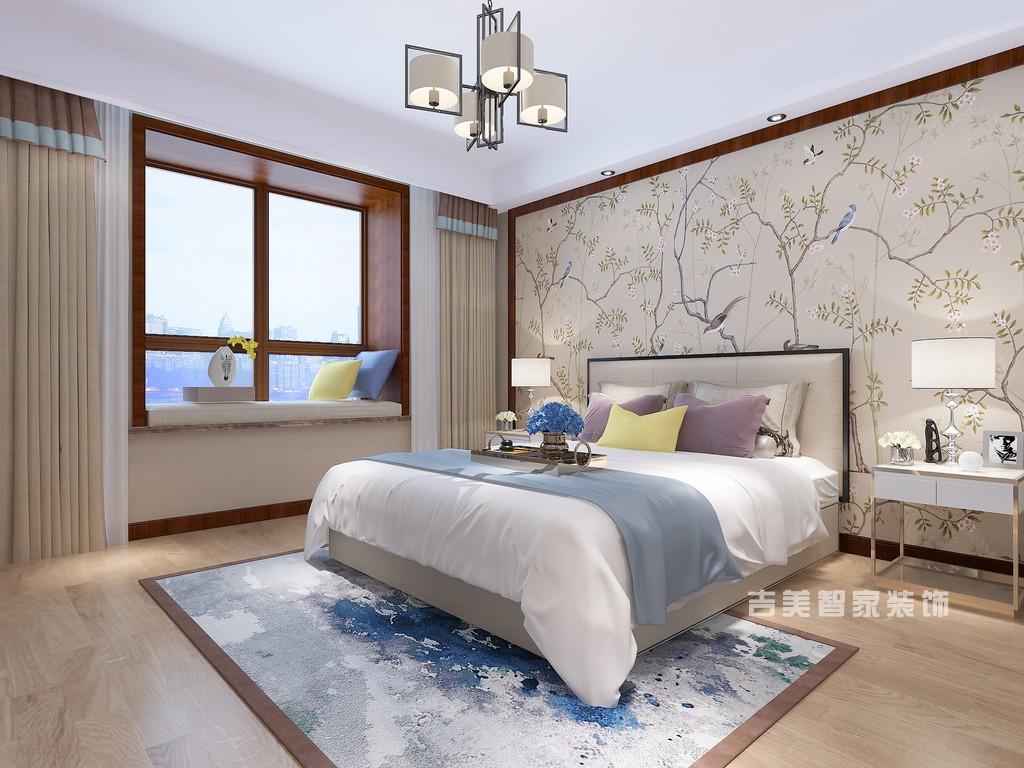 泰安恒基都市森林-新中式-卧室