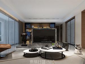 奥德海棠-180平米三居室-现代简约风格案例赏析