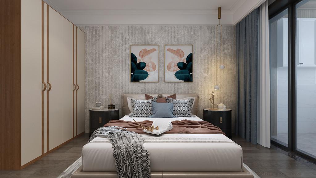 运用新中式结合时下流行的轻奢方式,给客户设计一套新中式风格方案
