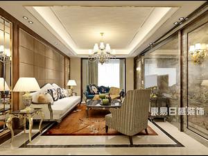 汀香郡-三室二厅装修180平米-港式轻奢风格赏析