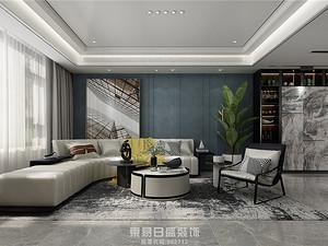 汀香郡-別墅360平米-簡約輕奢風格案例