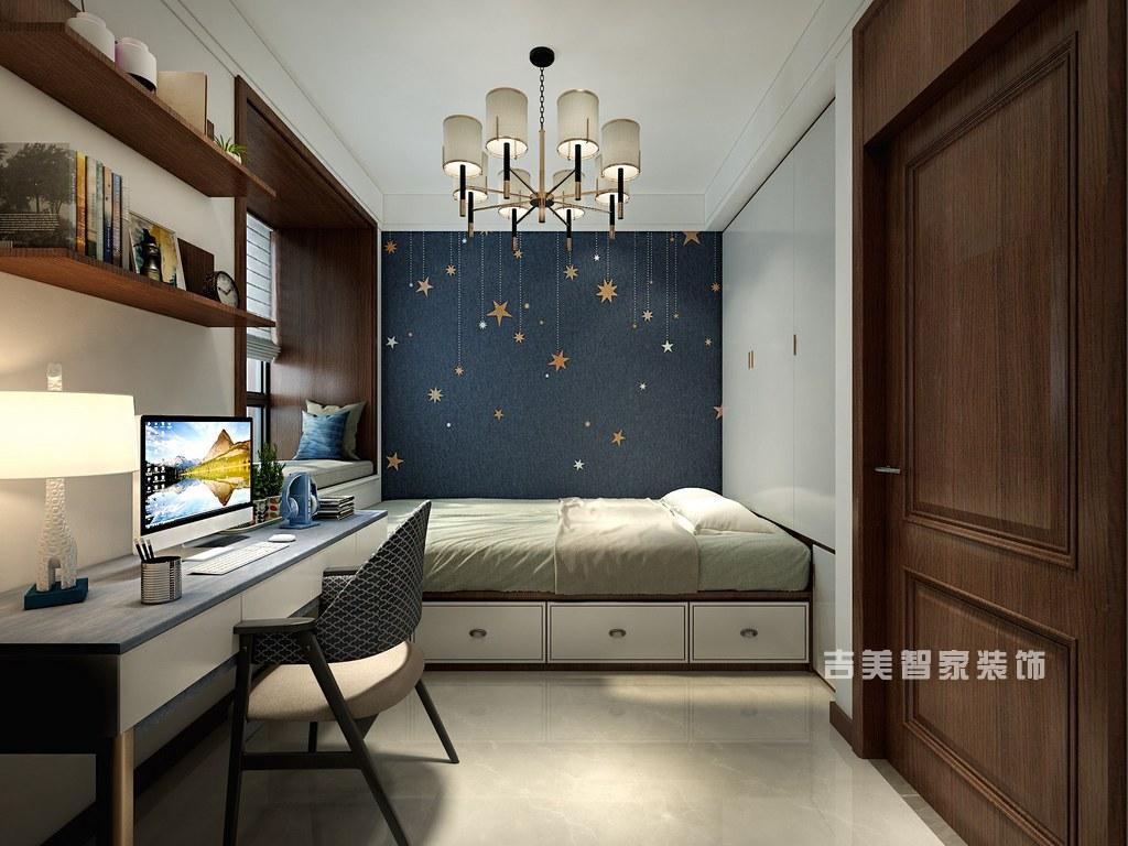 泰安卧龙大观-新中式-卧室