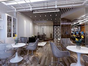 博雅金融广场工作室-200㎡-现代简约
