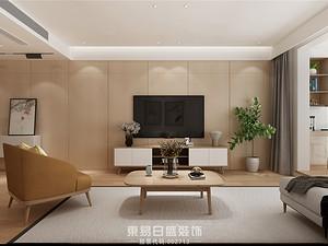 灏园-147平米三居室-日式风格案例