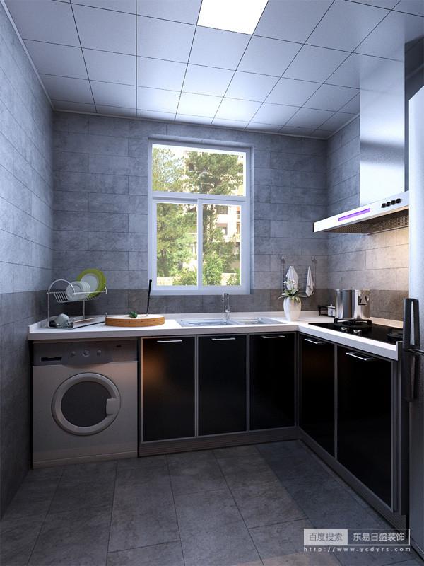 厨房间全景