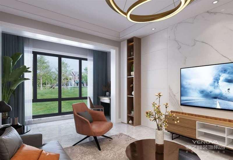 简约风格设计不仅仅只体现在装修上,而另一部分还体现在家具配饰的搭配,比如小的屋子就不要为了显得阔绰而购买体积比较大的物品,应该购买生活必须的东西,如果能不占面积,可以折叠,功能多样化那就再好不过了