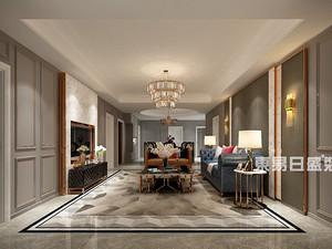 汀香郡灏园-洋房装修200平米-新装饰主义风格赏析