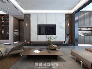 奧正誠園-175平米三居室-現代輕奢風格案例