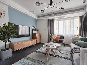 130平北欧三房,高级感和格调感十足,好羡慕!
