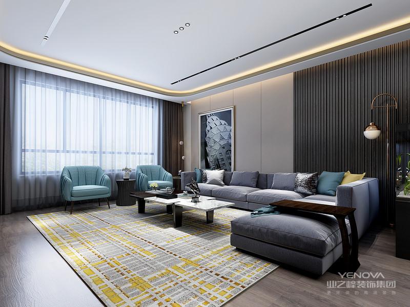 体现了现代生活快节奏、简约和实用,但又富有朝气的生活特征,没有过分的装饰,从功能出发,讲究生活的舒适、空间结构的明确美观,强调外观的简洁、大方。