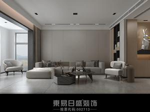 奧正誠園北區-151㎡三居室-現代簡約風格裝修案例