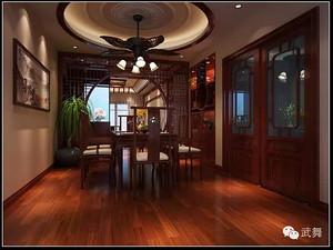 中式风格餐厅西甲买球盘口效果图
