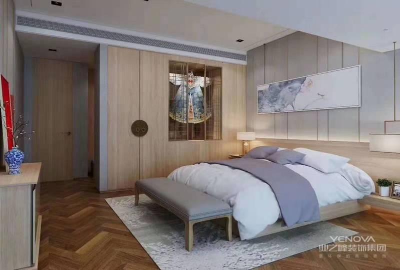 新中式风格的家居环境设计应该是中国传统文化与现代生活需求相结合的表达。虽然现代许多人都追求西方的新型的设计理念