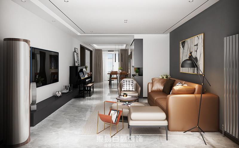 临沂家装北欧风格-客厅