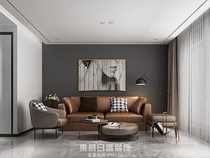 世纪新筑-三居室136平米-北欧风格赏析