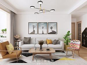 柳青齐鲁园-三居室130平米-北欧风格赏析