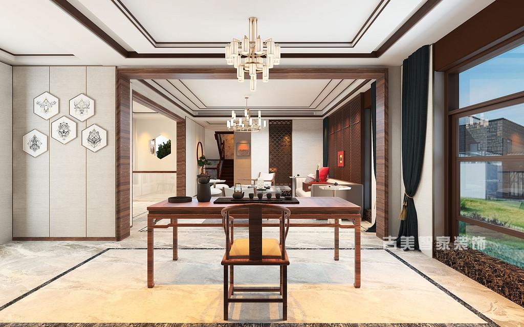 中国风并非完全意义上的复古明清,而是通过中式风格的特征,表达对清雅含蓄、端庄丰华的东方式精神境界的追求。