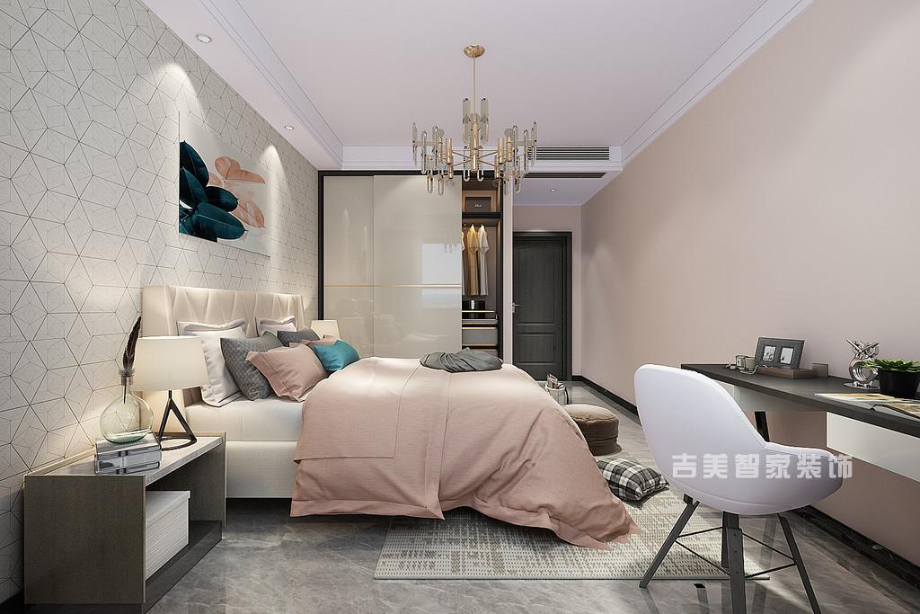 泰安天竹佳苑-现代-卧室
