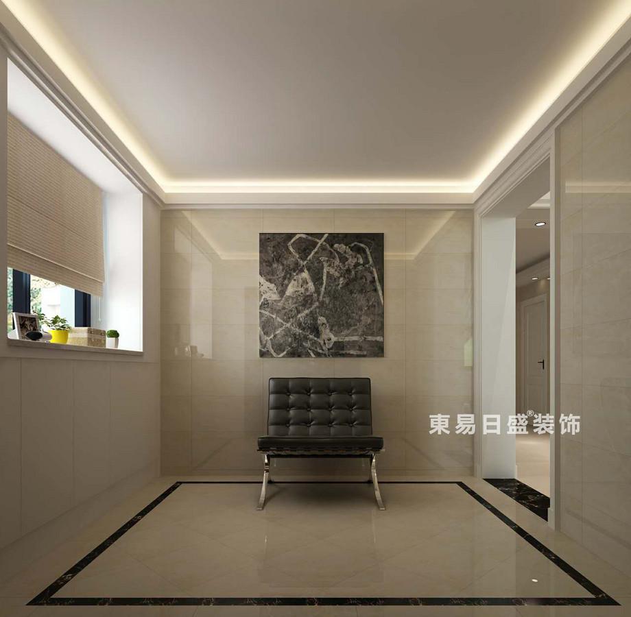 桂林空院别墅500㎡现代简约风格:休息室装修设计效果图