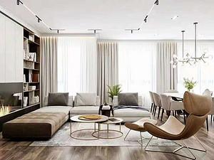 鼎和家园-125㎡-现代简约风格