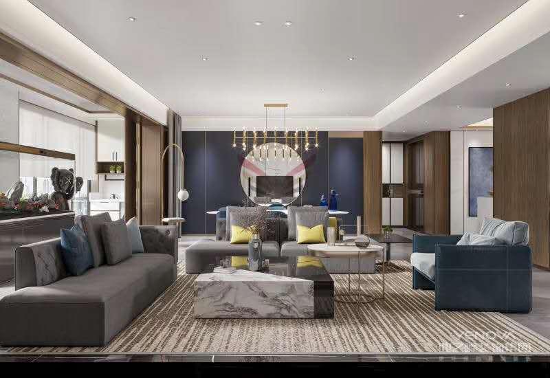 现代轻奢风格,注重高品质与设计感,将优雅时尚的质感结合着现代材质及装饰技巧,从而巧妙的呈现在居室中,展示着精致高端的生活态度。它从来都不是单单靠一种细节或一种元素,它往往是多个细节元素组合而来,优雅舒适简约而有气质。