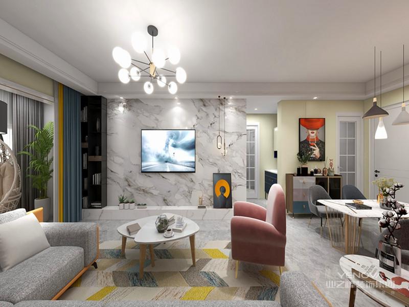 真正的混搭风格设计应该是将各种风格的美学特征完美的结合在一起,从而创造出独特、创新富有文化与浪漫气息居室。