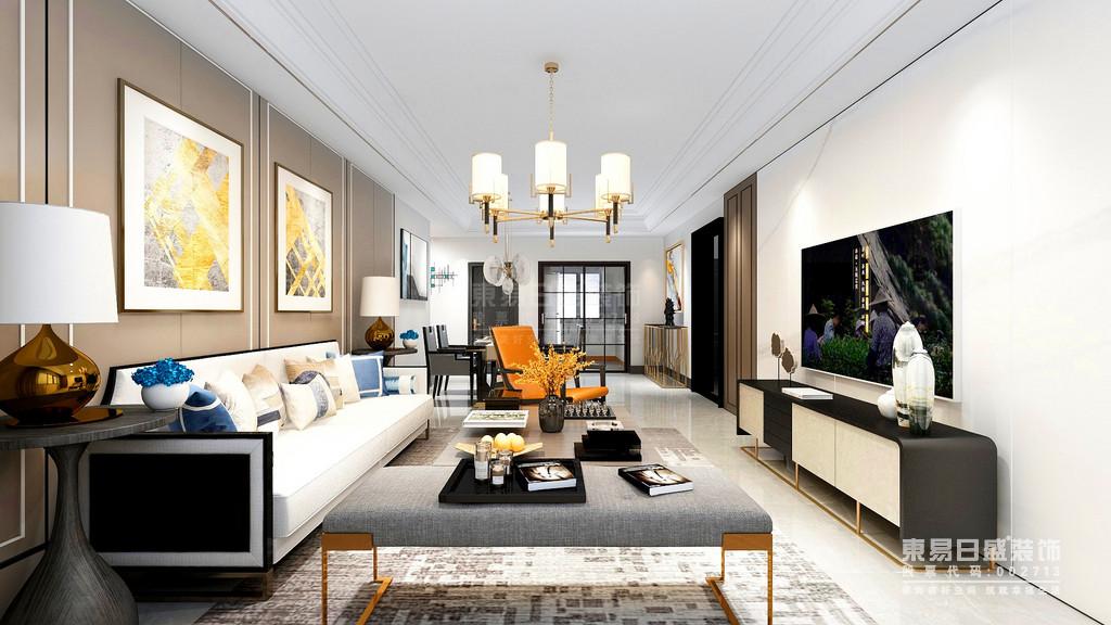 客厅  一般来说,选择现代豪华风格的客厅比例比较宽敞,以便最大限度地利用空间。视觉空间看起来很宽敞,灯光效果也很好。客厅家具方面,建议采用灰色色调和金属元素点缀,营造平静而不失时尚氛围。至于对于地板的装饰,可以选择感觉非常舒适的木制地板来装饰,使整个客厅显得简单舒适,显露出一种奢华感。