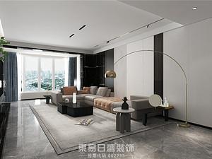 滨河阳光B区-大平层200平米-现代简约风格案例