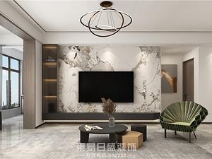 瓏璟-145平米三居室-現代風格效果案例