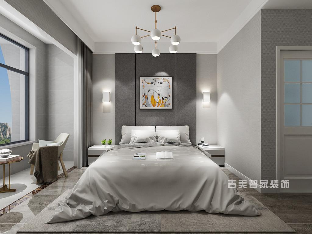 泰安恒基家园-现代简约-卧室