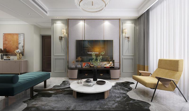 通过材质的多元化及亲切触感,塑造温暖舒适的空间