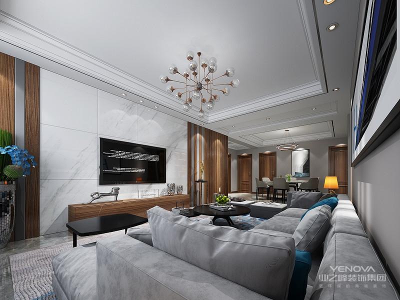 在灰色为基础上用原木色,在灰色的压制下又不会觉得过分的奢华,低调内敛,看着非常的舒服。