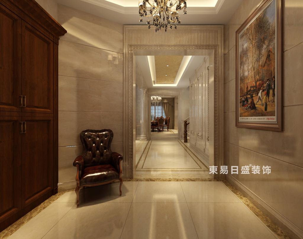 桂林华生•御景湾别墅600㎡欧式风格:门厅过道装修设计效果图