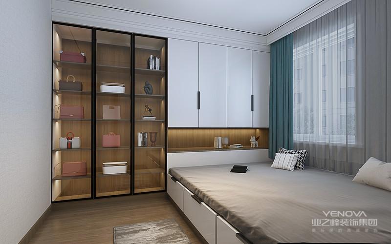 现代风格外形简洁、功能强,强调室内空间形态和物件的单一性、抽象性