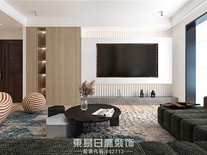奧正誠園北區-150平米三居室-原木風案例