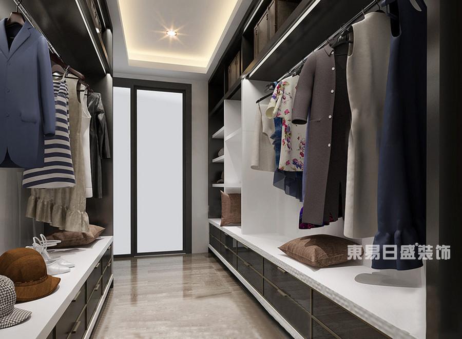 桂林冠泰•城国二居室145㎡简约风格:衣帽间装修设计风格