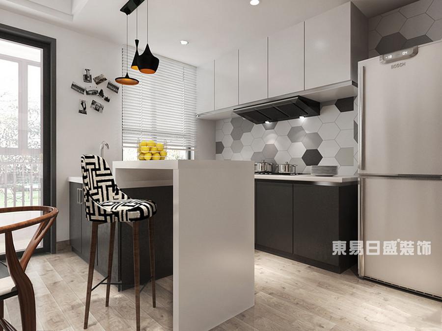 桂林冠泰?城國二居室145㎡簡約風格:廚房裝修設計風格