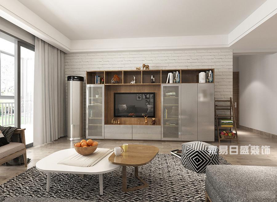 桂林冠泰?城國二居室145㎡簡約風格:客廳裝修設計風格