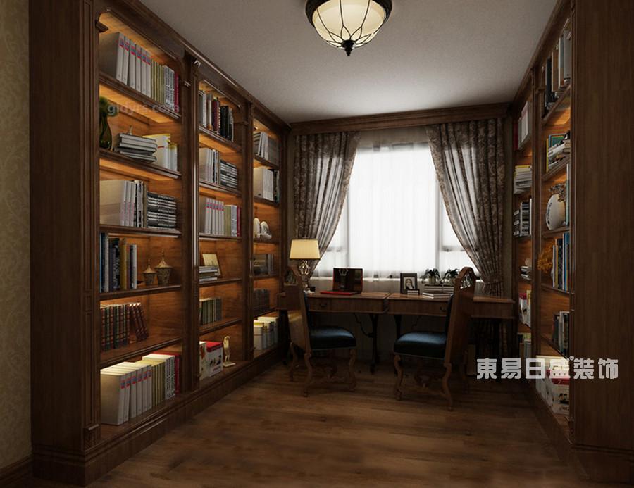 桂林冠泰•城国二居室145㎡简约风格:书房装修设计风格