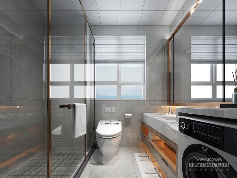 室内空间开敞、内外通透,在空间平面设计中追求不受承重墙限制的自由