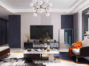 宝德新里程-160平米四居室-现代轻奢案例