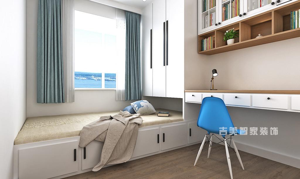 泰安御蓝山-极简中式-卧室