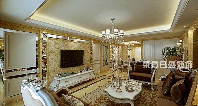 临沂装修网欧式风格-客厅