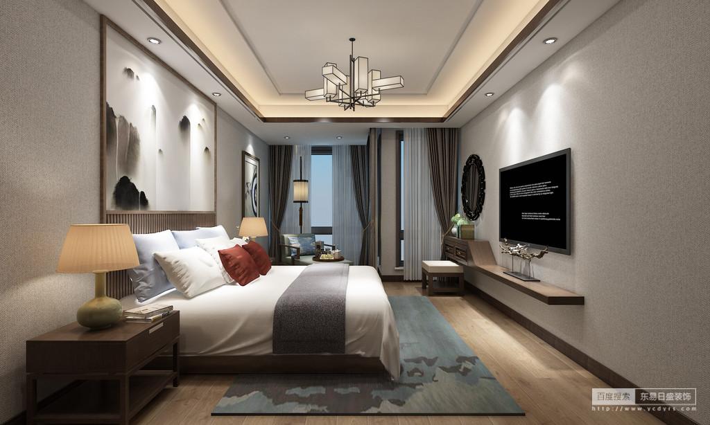 次卧室全景