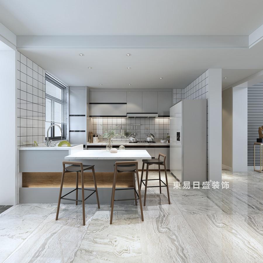 桂林復式樓280㎡現代簡約風格:廚房裝修設計效果圖